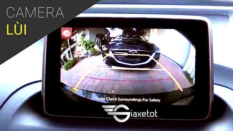 camera lùi ô tô an toàn