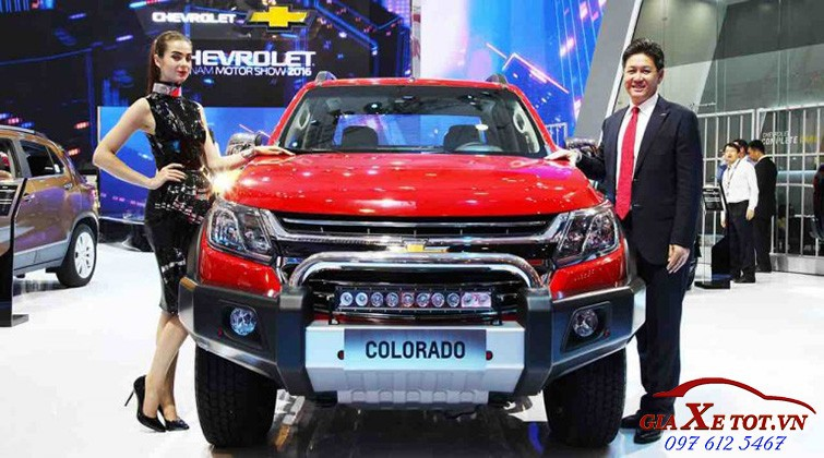 dau xe Chevrolet Colorado 2017