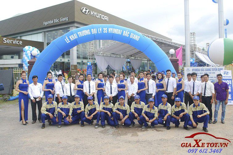 Đại lý xe Hyundai Bắc Giang