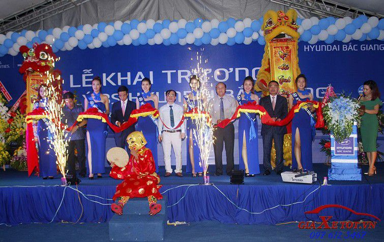 Khai trương đại lý xe Hyundai Bắc Giang