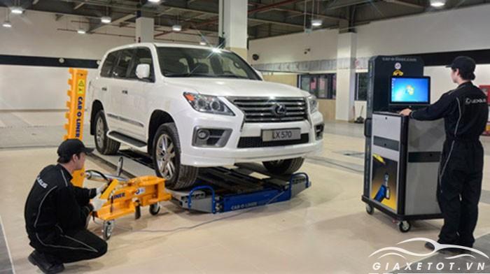 Xưởng bảo trì bảo dưỡng xe lexus sài gòn