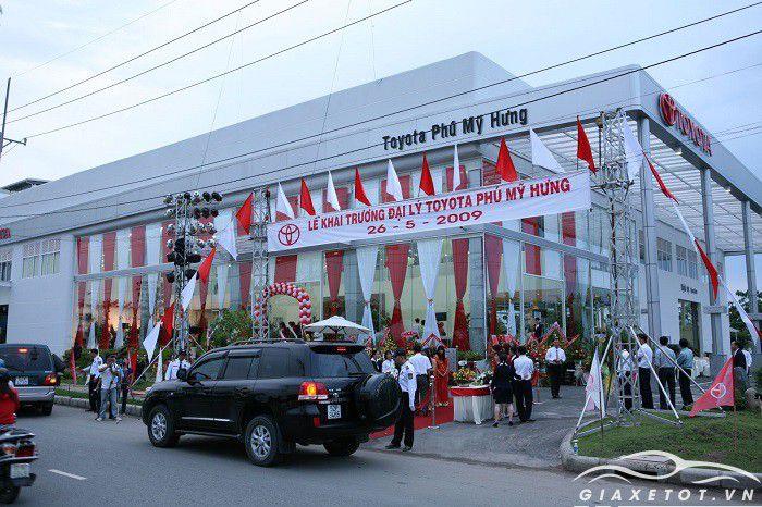 Đại lý xe Toyota Phú Mỹ Hưng