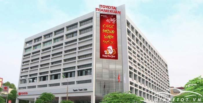 Đại lý xe Toyota Thanh xuân