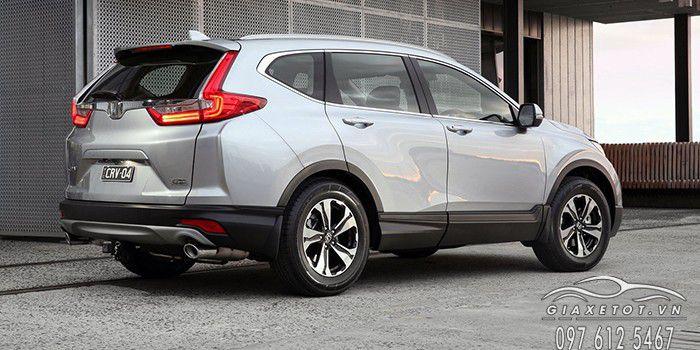 Honda CRV  màu ghi bạc