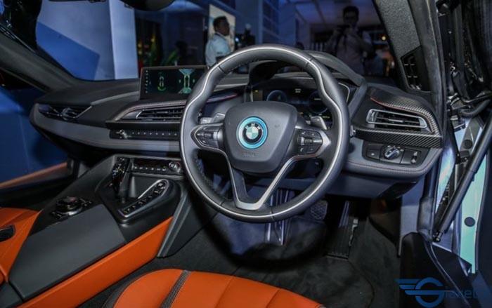 Vô lăng bmw i8 coupe