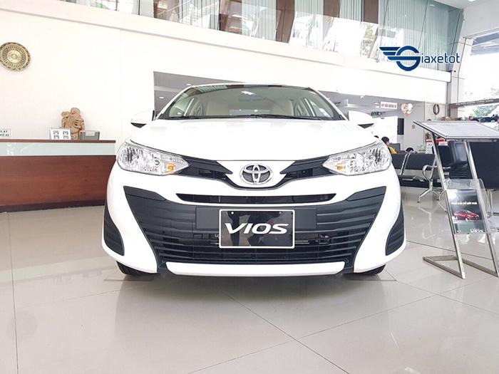 Thiết kế đầu xe Toyota vios e mt