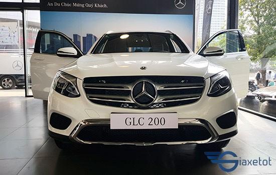 đầu xe mercedes GLC 200
