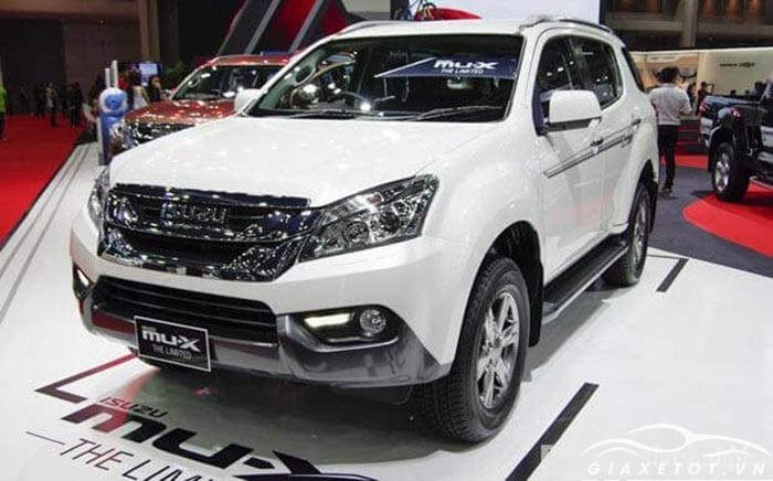 thân xe Isuzu MuX