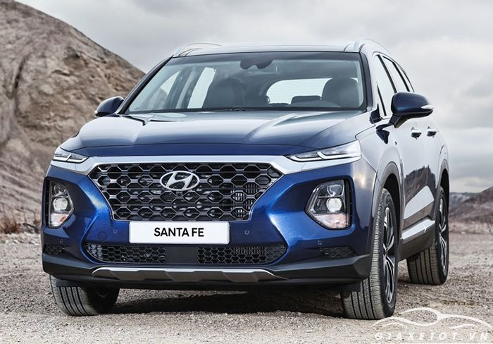 Hyundai Santafe 2019 giá bao nhiêu