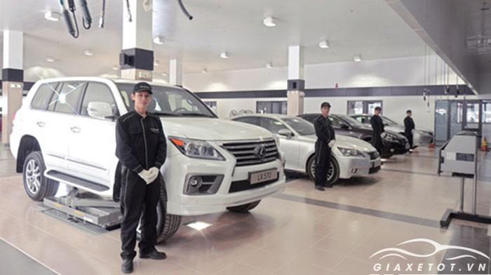 Cửa hàng xe lexus sài gòn