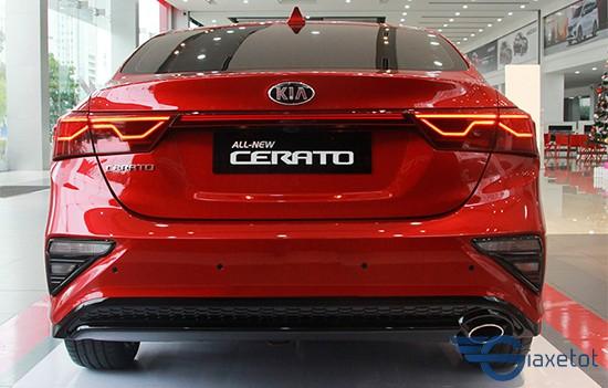 đuôi xe kia cerato 2019 giaxetot màu đỏ