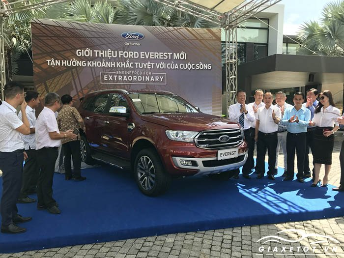 Ford everest 2018 tại Việt Nam