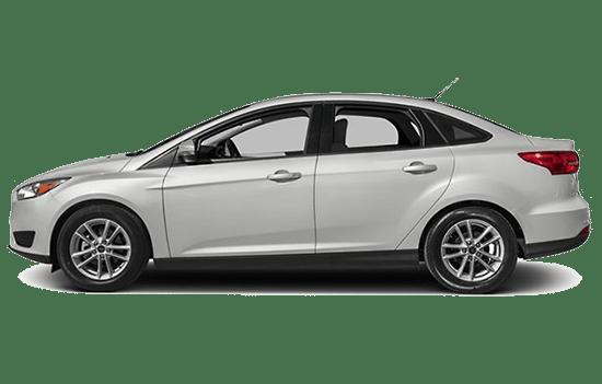 ford focus sedan trắng