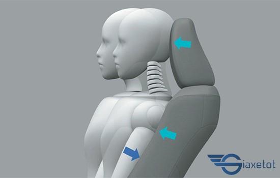 ghế giảm chấn thương cột sống