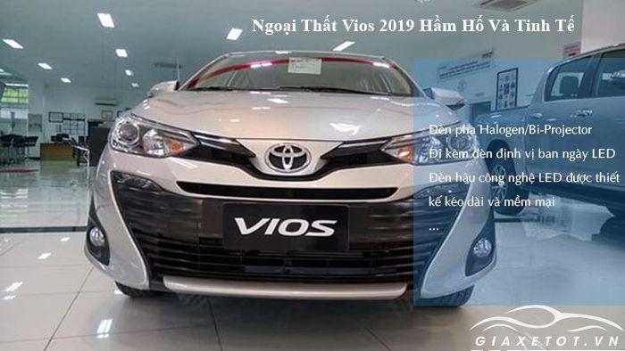 Đầu xe Toyota Vios 2019