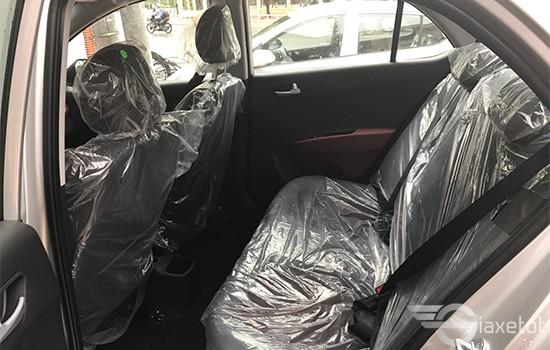 chất liệu ghế hyundai i10 2019