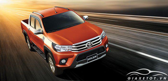 Đánh giá xe Toyota Hilux 2018