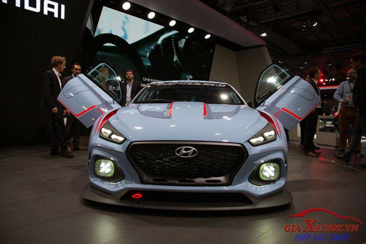 Đầu xe Hyundai RN30 concept