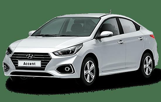 hyundai accent sedan màu trắng giaxetot 2019