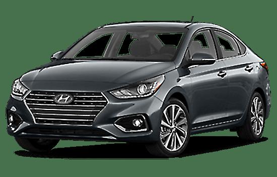 hyundai accent sedan màu xám giaxetot 2019