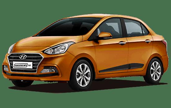 báo giá xe hyundai i10 sedan 2019 màu cam