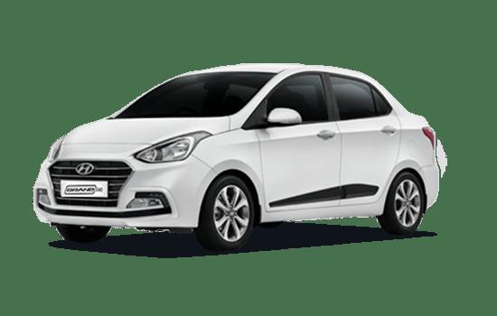 hyundai i10 sedan 2019 màu trắng