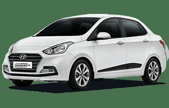 báo giá xe hyundai i10 sedan 2019 màu trắng