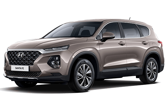 hyundai santafe mau xam 2019