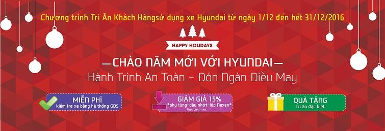 hyundai thành công khuyến mại cuối năm 2016