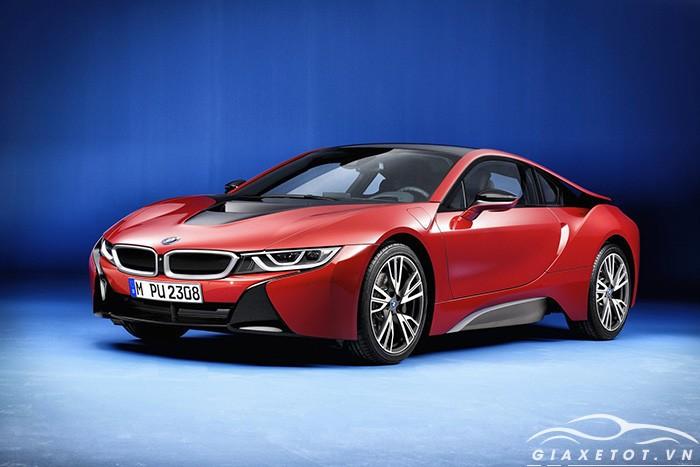 bmw i8 màu đỏ