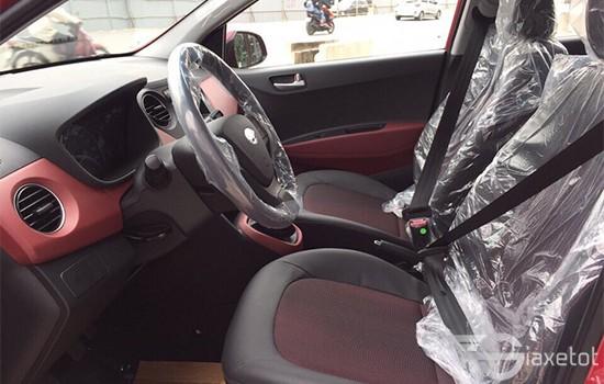không gian nội thất hyundai i 10 hatchback giaxetot 2019