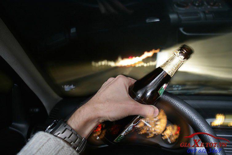 không uống rượu bia khi lái xe
