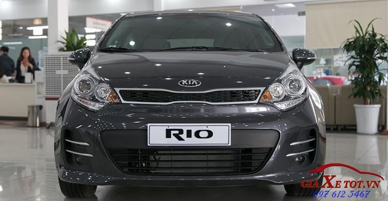 đầu xe Kia Rio hatchback