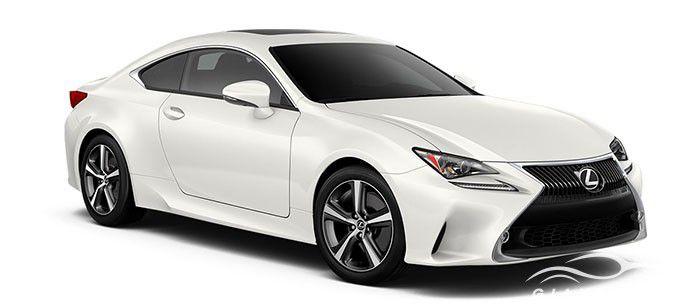 Lexus RC màu trắng