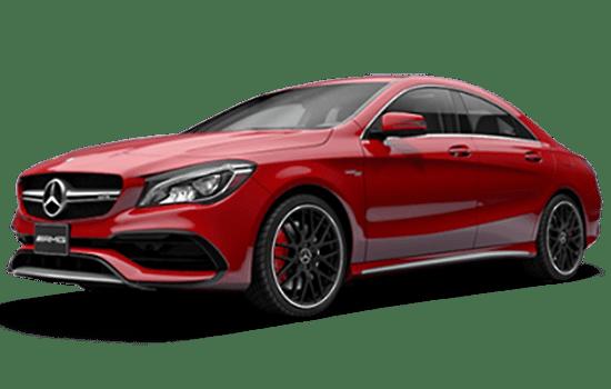 báo giá xe Mercedes CLA màu đỏ 2019