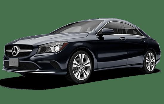 Mercedes CLA màu xanh đen 2019