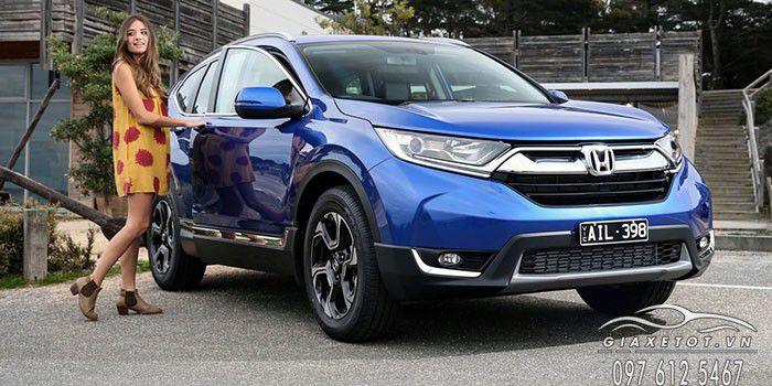 Thông số kỹ thuật Honda CRV