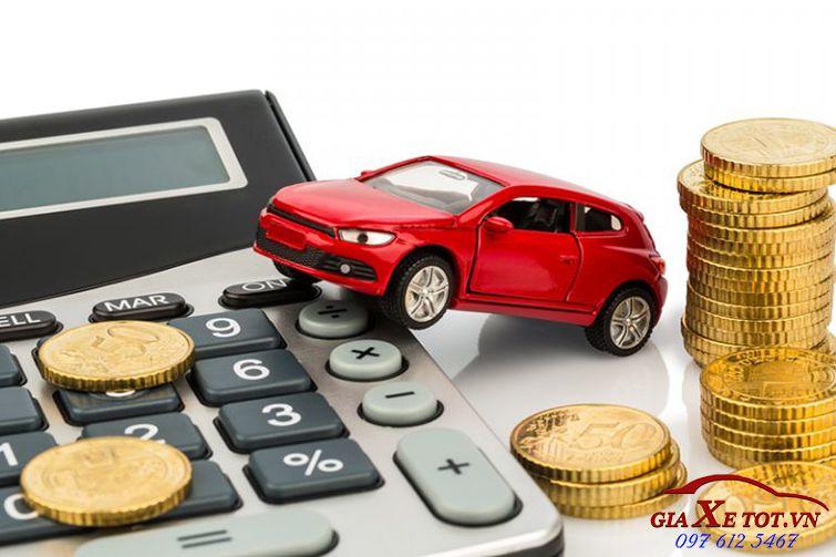 Bảng tính lãi suất vay mua xe trả góp