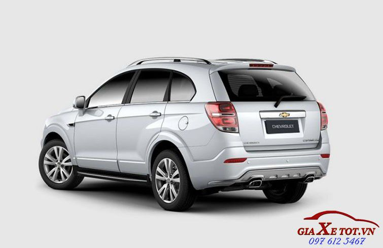 ngoai that  Chevrolet Captiva 2017
