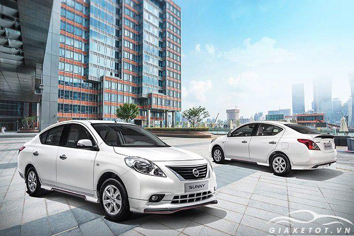 Nissan sunny tại nissan lê văn lương