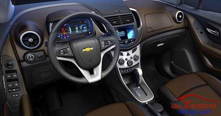 nội thất Chevrolet Captiva 2017