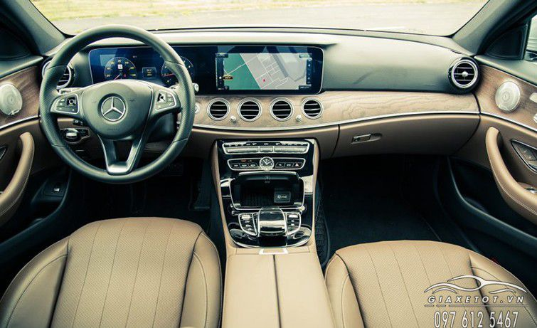 noi that dau xe Mercedes Benz E Class