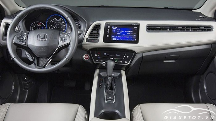 nội thất Honda HRV 2019