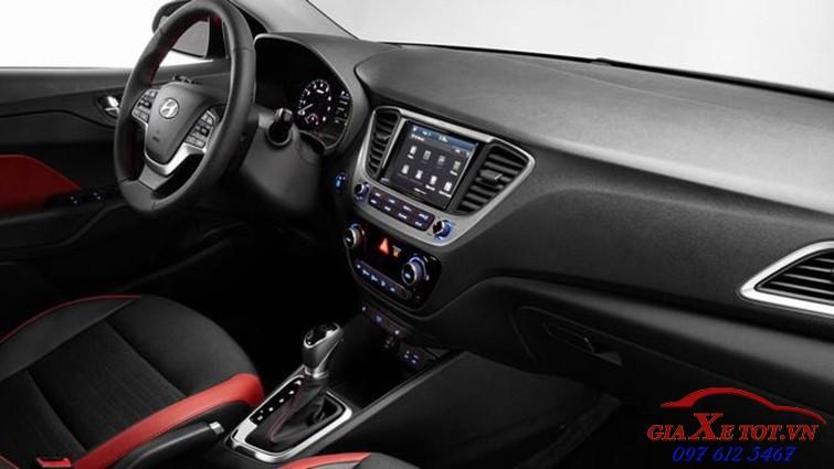 Nội thất Hyundai Accent 2018 2