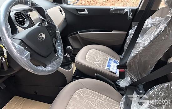 nội thất hyundai i10 sedan 2019