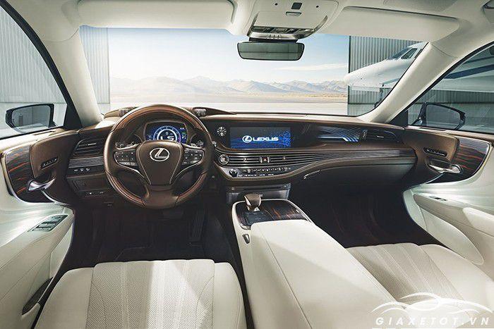 Nội thất xe Lexus LS