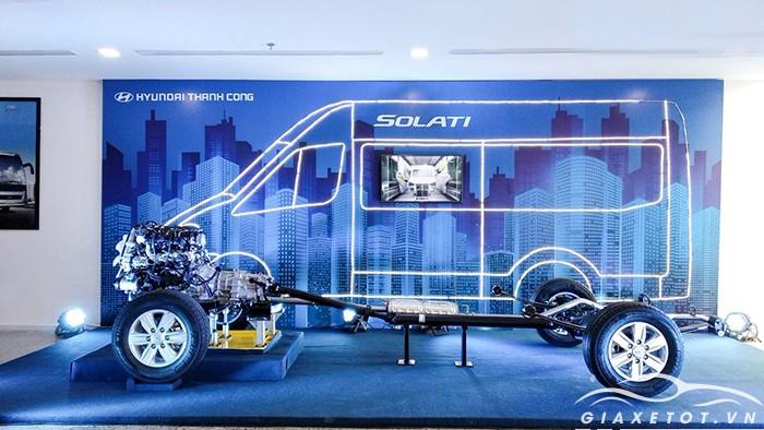 Động cơ -khung gầm Hyundai Solita