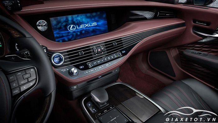 Nội thất xe ô tô Lexus LS