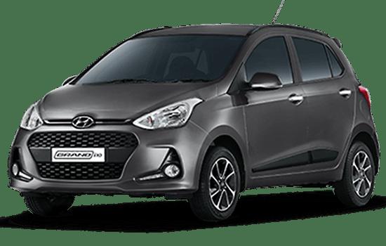 hyundai i10 hatchback 2019 màu xám