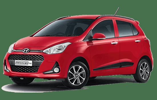 hyundai i10 hatchback 2019 màu đỏ